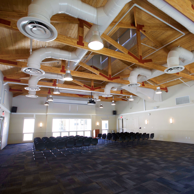 Residential meeting room