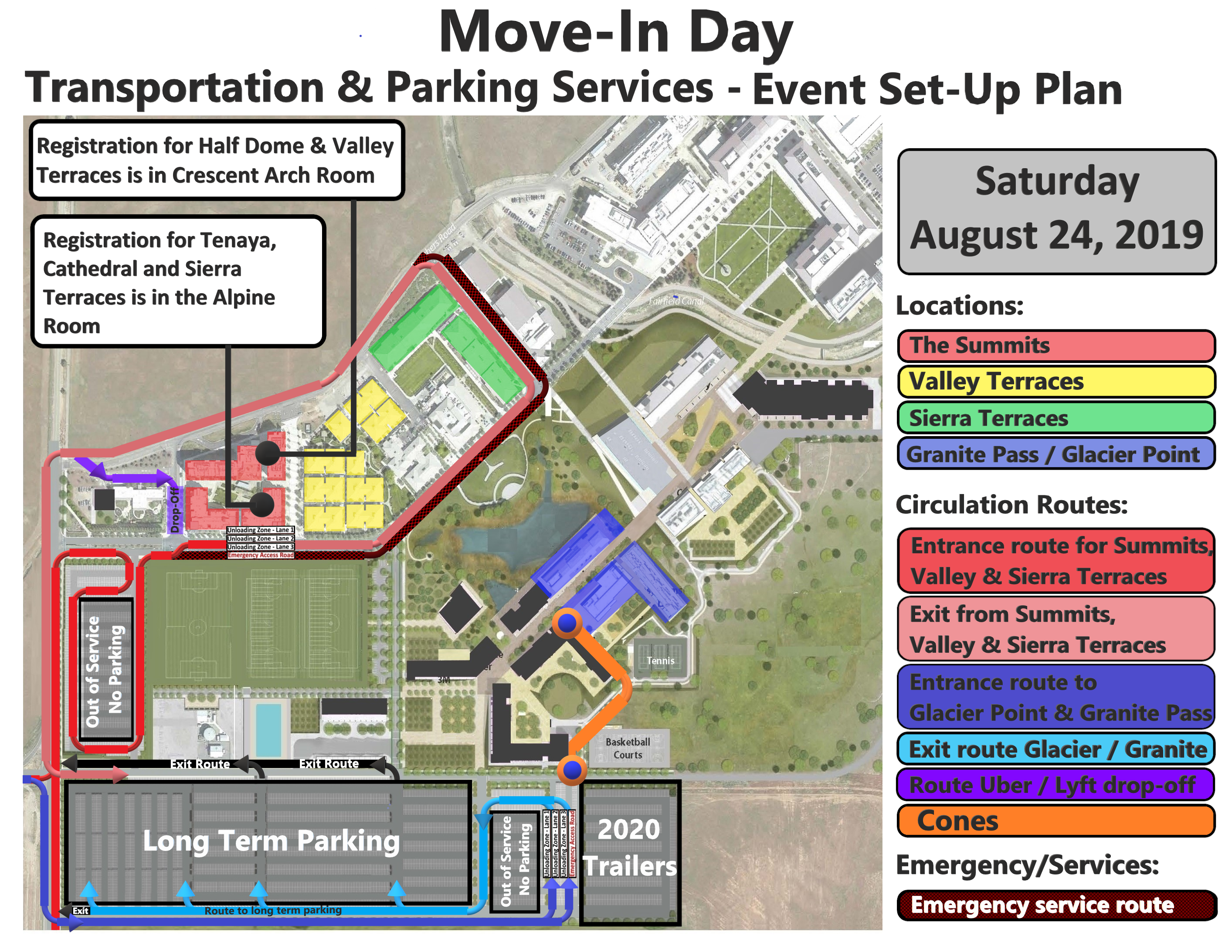 Move In Information for Students and Families | Housing