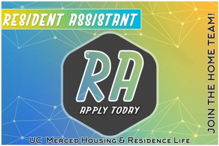 Join the home team, RA applications open today.